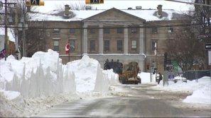 City crews work to remove snow