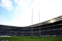 A general view of Murrayfield Stadium in Edinburgh ahead of an RBS Six Nations match in February