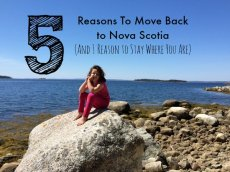 Helen Earley 5 Reasons to Move Back to Nova Scotia