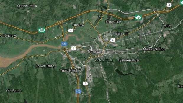 Map of Truro, Nova Scotia
