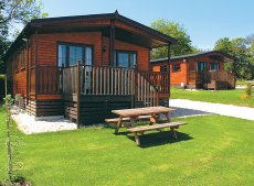 Three-bedroom lodge at St Tinney Farm, Cornwall