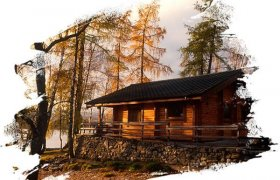 Log cabins in Scotland for New Year