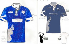 New Scotland Rugby Shirt