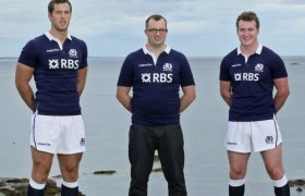 New Scotland Rugby strip