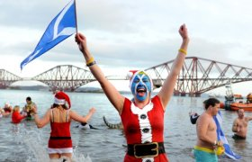 New Year traditions Scotland