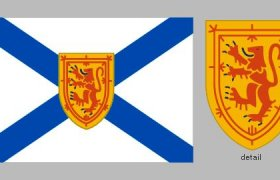 Where is Nova Scotia located in Canada?