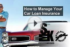 Auto Insurance Halifax - How to Manage Your Car Loan Insurance