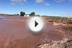 Bay of Fundy Tidal Bore at Truro, Nova Scotia