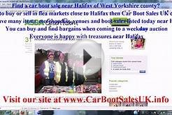 Car Boot Sales Halifax | Flea Market Sites West Yorkshire