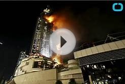 Huge Fire Breaks Out in Dubai Hotel on New Years Eve