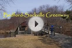 The Bedford - Sackville Greenway. Halifax, Nova Scotia.